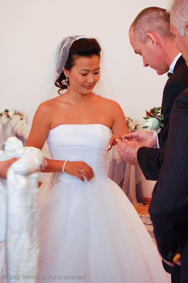 Mongolian Wedding Ring