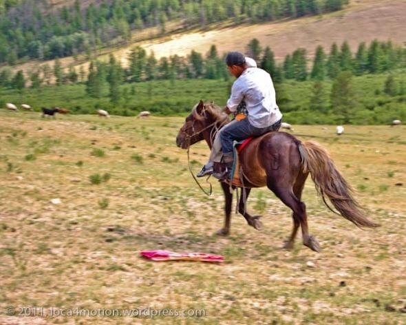 Gorkhi Terelj National Park Mongolia Horse Riders