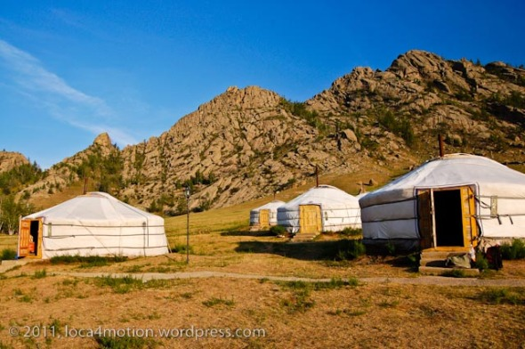 Terelj Lodge Tourist Ger Camp Gorkhi-Terelj National Park Mongolia Gers Exterior