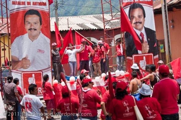 election campaign antigua guatemala
