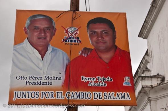 election propaganda salama guatemala