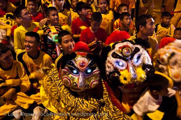 Night Parade, Chinese New Year 2013, Nakhon Sawan, Thailand