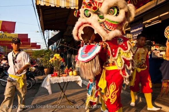 Day Parade, Chinese New Year 2013, Nakhon Sawan, Thailand