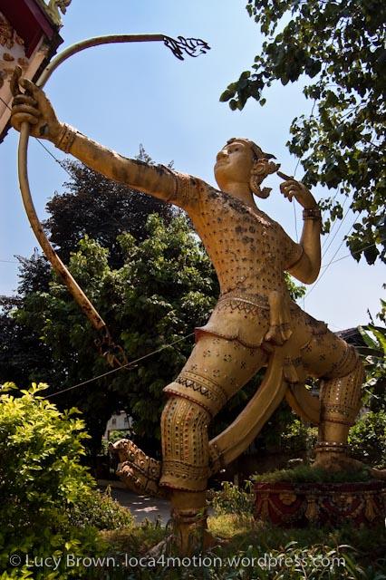 Wat Sidamduan, Vientiane, laos