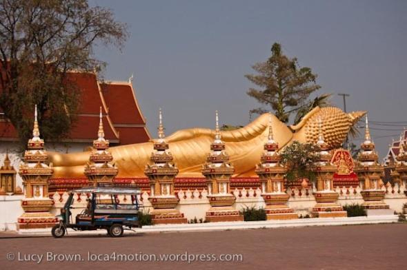 Wat That Luang Tai, Vientiane, Laos