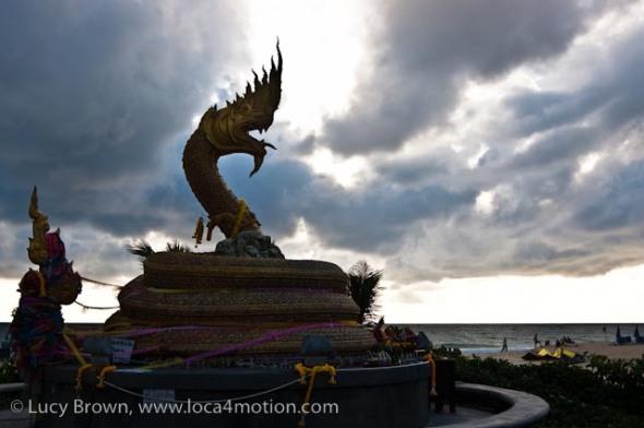 Naga shrine (pa ya nak), Karon beach, Phuket, Thailand