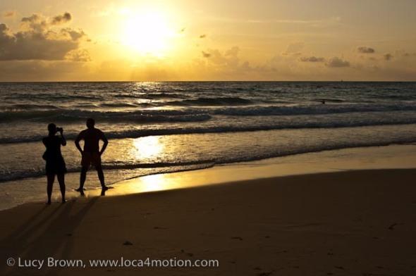 Sunset, Karon beach, Phuket, Thailand