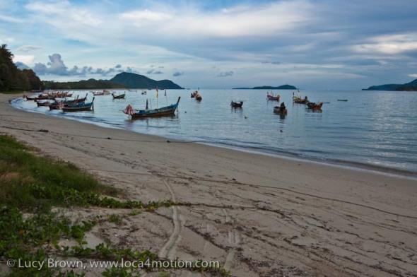 Long-tail boats (ruea hang yao), Rawai beach, Phuket, Thailand