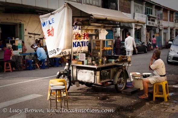 Street food cart, George Town, Penang, Malaysia