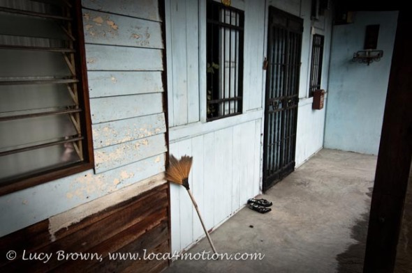Jetty home, Clan Jetties, George Town, Penang, Malaysia