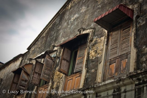 Old Building, George Town, Penang, Malaysia