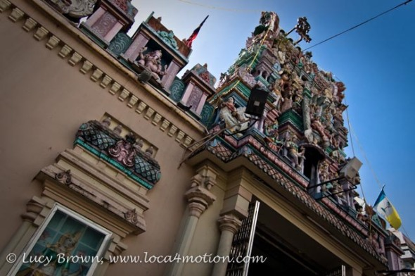 Mahamariamman Temple, Little India, George Town, Penang, Malaysia