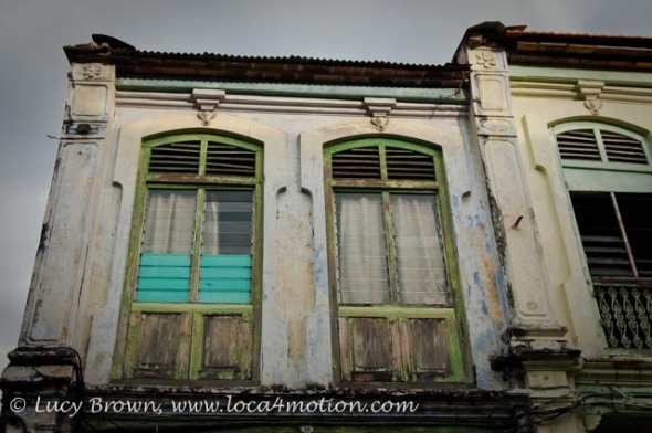 Painted Windows, George Town, Penang, Malaysia