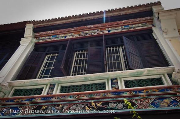 Sun Yat Sen Penang Base, Decorative Exterior, George Town, Penang, Malaysia