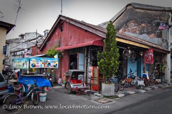 Bicycle shop, Armenian Street, George Town, Penang, Malaysia