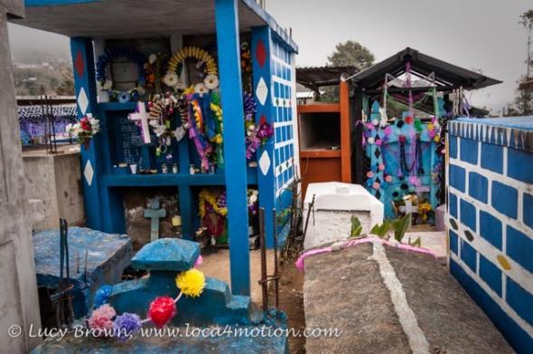 Cemetery, Todos Santos Cuchumatán, Huehuetenango, Guatemala