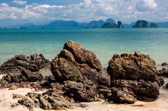 View over Phang Nga Bay, Ko Yao Noi, Phuket, Thailand