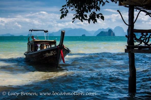 Long-tail boat, Ko Yao Noi, Phuket, Thailand
