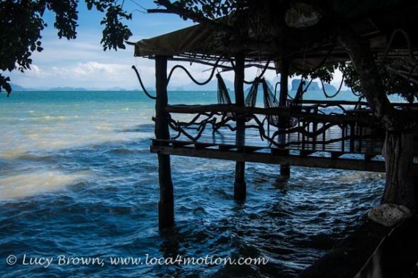 Hammock dock, Ko Yao Noi, Phuket, Thailand