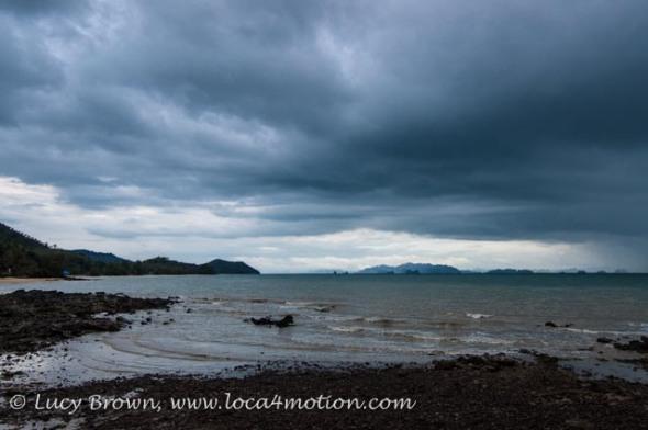 Stormy skies, Ko Yao Noi, Phuket, Thailand