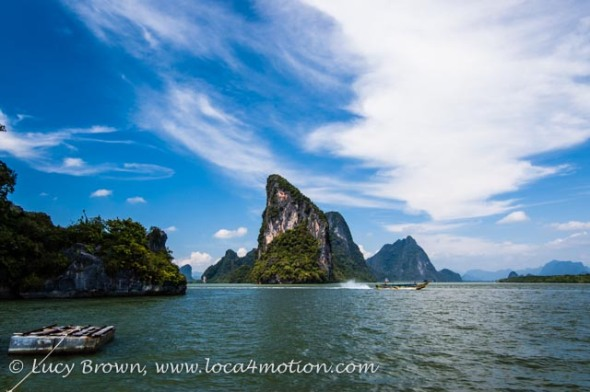 Phang Nga Bay views, Thailand