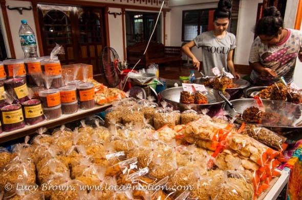 Food stall, Koh Panyee (Ko Panyi), Phang Nga Bay, Thailand
