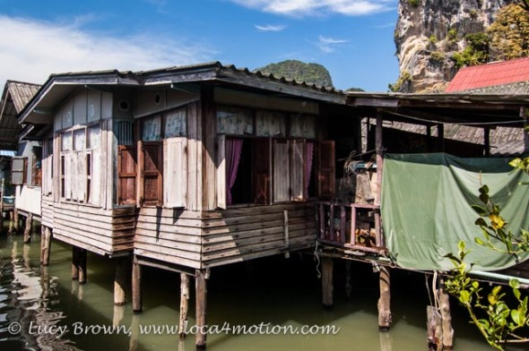 Houses on stilts, Koh Panyee (Ko Panyi), Phang Nga Bay, Thailand